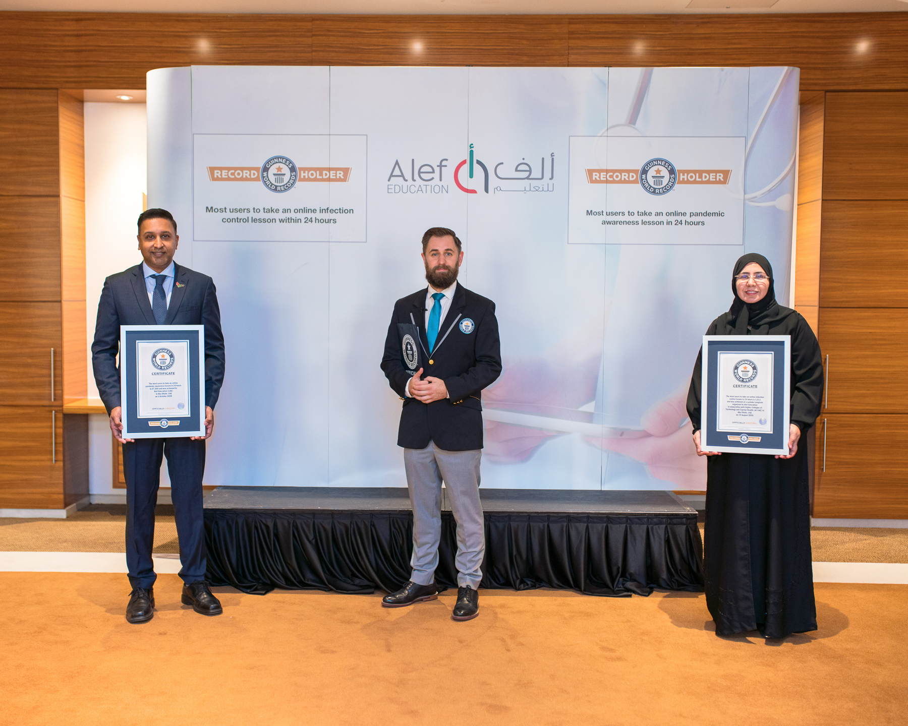 Alef Education Brings Home Two Guinness World Records™ titles to Abu Dhabi
